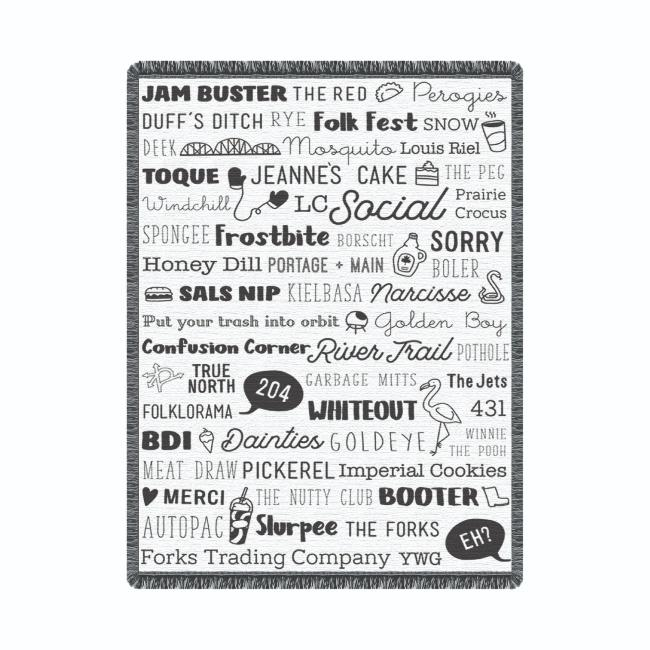 FTC Exclusive - Speak Fluent Manitoban Blanket
