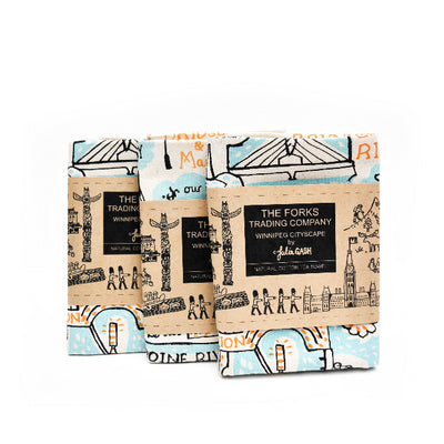 FTC Exclusive - Winnipeg Cityscape Tea Towel
