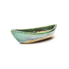 Michael Lemer - Light Brown & Green Boat