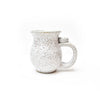 Michael Lemer - Speckle White Drip Belly Mug