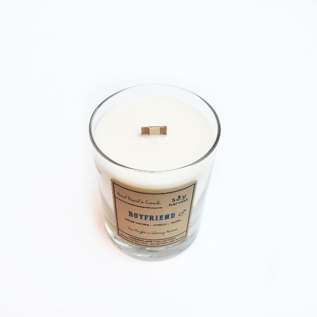 "Soy Harvest - ""Boyfriend"" Candle"