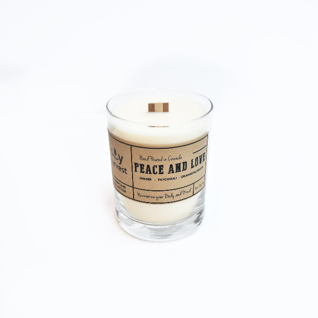 "Soy Harvest - ""Peace and Love"" Candle"