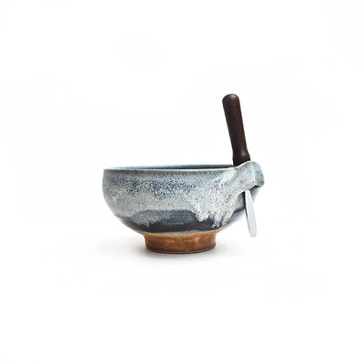 Susan Gurman - Dip Bowl with Spreader