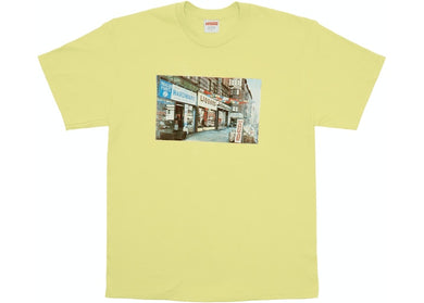 Supreme Hardware Tee Pale Yellow