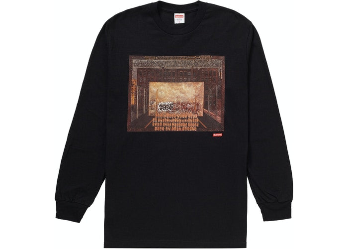 Supreme Martin Wong Attorney Street L/S Tee Black