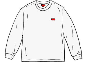 Supreme Small Box L/S Tee (FW20) White