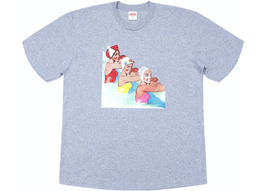 Supreme Swimmers Tee Heather Grey