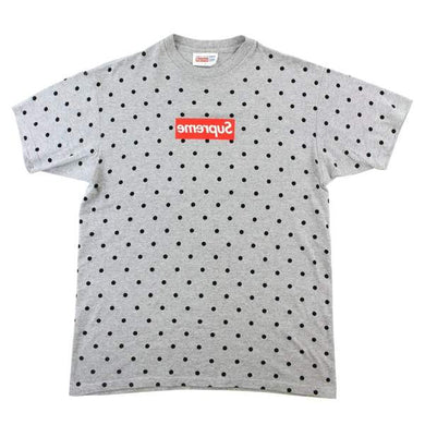 VNDS Supreme X Comme Des Garcons Heather Polka Dot Box Logo