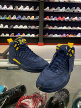 Load image into Gallery viewer, Jordan 12 Retro PSNY Michigan