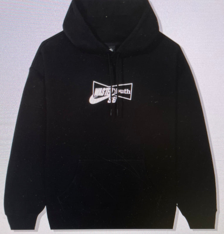 Nike x Wasted Youth Logo Hoodie Black