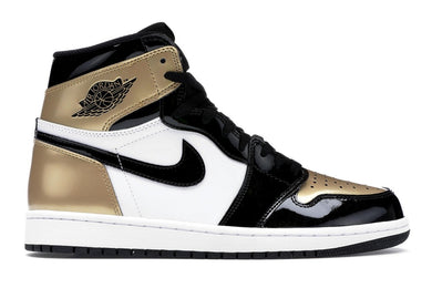 Jordan 1 Retro High 'Patent Gold Toe'