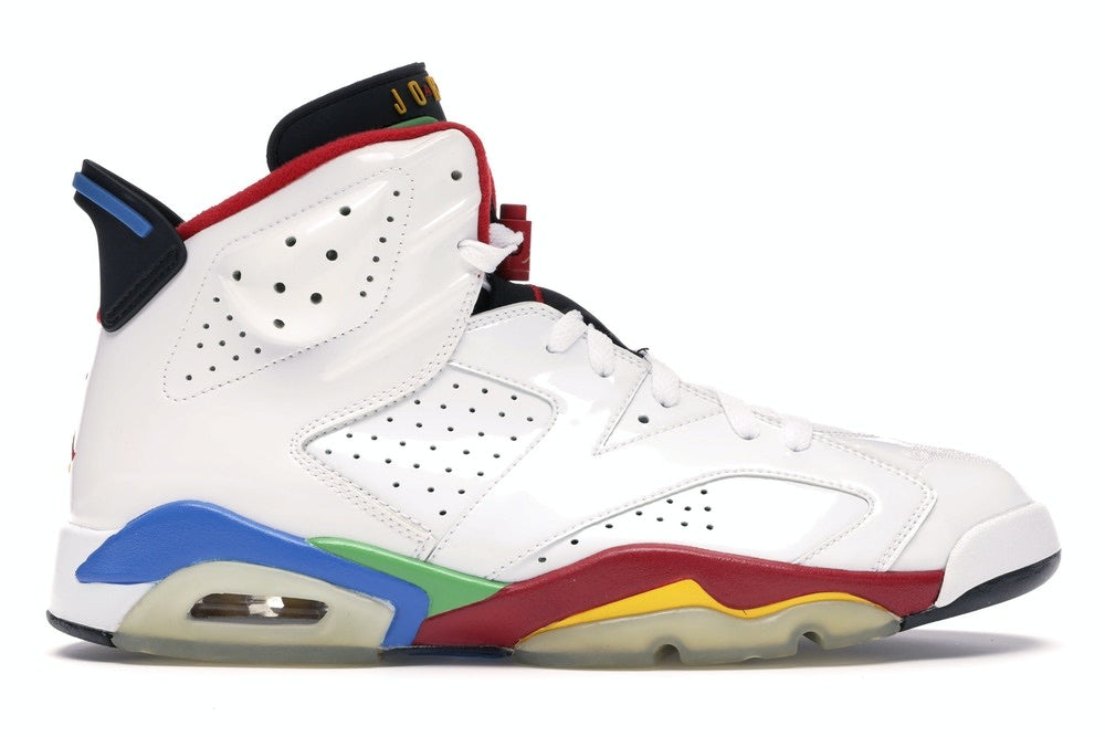 Jordan 6 Retro 'Olympic Flag Beijing'