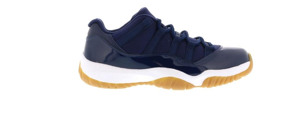 Jordan 11 Retro Low 'Midnight Navy/Gumbottom'