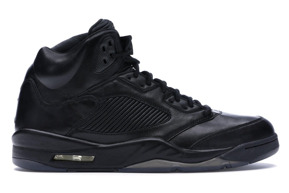 Jordan 5 Retro Premium 'Triple Black'