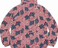 Supreme Raglan Court Jacket Flags