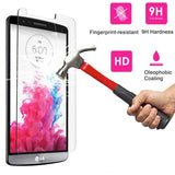 9H Tempered Glass Screen Protector For LG Series - Smart Shopping Shop