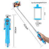 Extendable Self Selfie Stick + Bluetooth Remote Controller + Clip Holder for iPhone/Android - Smart Shopping Shop