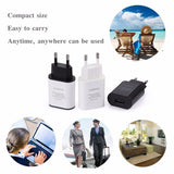 USB Fast Charger 5V 2A EU Plug Mobile Phone Wall Travel Power Adapter For Universal Devices - Smart Shopping Shop