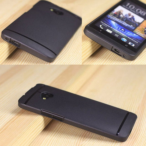UltraThin Slim Matte Soft TPU Phone Cases For HTC ONE M7 - Smart Shopping Shop