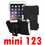 For Apple iPad mini 1 2 3 4 Tough Impact Case Heavy Duty Armor Hybrid Anti-knock Silicon Hard Back Cover For iPad mini 1/2/3/4 - Smart Shopping Shop