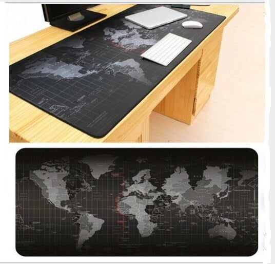 Super large World Map mouse pad 1000x500mm/900x40mm/700x300mm/600x300mm - Smart Shopping Shop