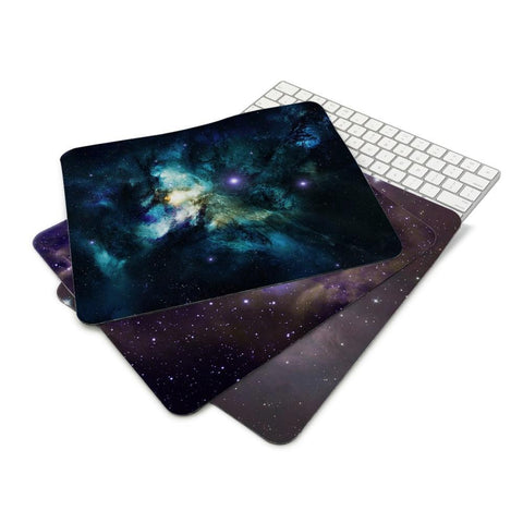 Space Stars Nebulae Art Wallpaper Anti-Slip Cool Design Mouse Pad