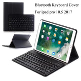 For ipad pro 10.5 Keyboard Ultra-thin Detachable Bluetooth Keyboard Stand Case - Smart Shopping Shop
