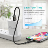 USB Lightning Charger Cable for all compatible Apple devices - Smart Shopping Shop