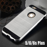 Luxury Aluminum Silicone Cover Shockproof Protective Case For Apple iPhone Series