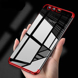 Luxury Transparent Anti-knock Case For Huawei Honor 9