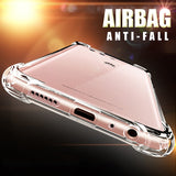 Luxury Anti-knock Transparent Cases For Huawei Series