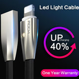 USB Lightning Cable LED Light Cable for iPhone and iPad Fast Charger - Smart Shopping Shop
