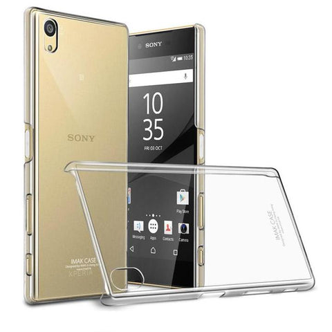 Transparent Crystal Clear Plastic PC Cover For Sony Xperia Z5 Premium - Smart Shopping Shop