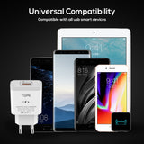 Mobile Phone Charger 18W Quick Charge EU Plug For Universal Devices
