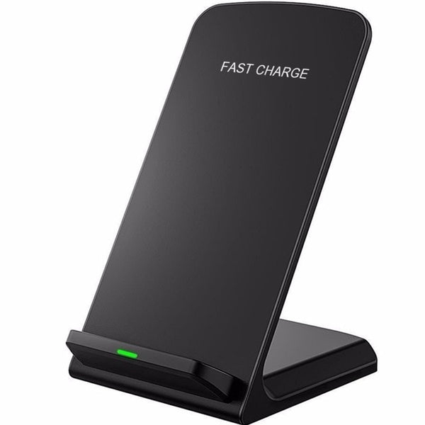 Stand Wireless Fast Charger For Sample iPhone X and other compatible Devices - Smart Shopping Shop