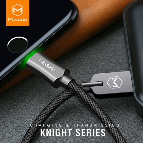 USB Lightning Cable LED Light For Compatible Apple Devices Fast Charging Cable Mobile Phone Charger - Smart Shopping Shop