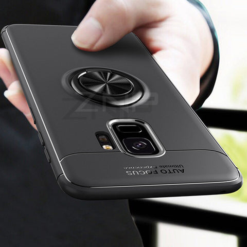 Luxury Magnetic Ring Stand Case For Samsung Series