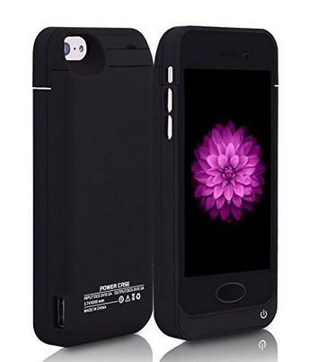 Battery Case High Capacity 4200mAh For iPhone 5, 5C, 5S, SE - Smart Shopping Shop
