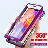 Luxury Hard 360 Full Cover Protection Case For Huawei Series
