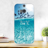 Fashion 3D Printing Case Soft Silicone For HTC One M8, M8S - Smart Shopping Shop