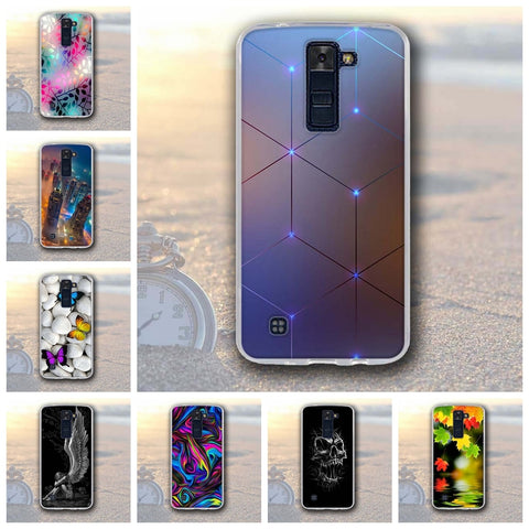 Spirit Soft Silicone Back Cover Case For LG Series - Smart Shopping Shop