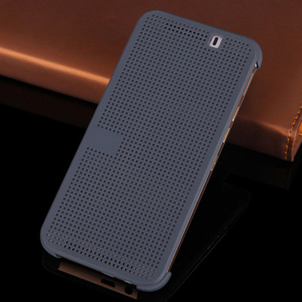 Smart Flip Cover Silicone Case For HTC One M9, M9 Plus