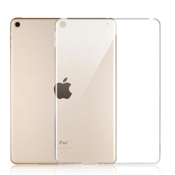 Soft Silicon Transparent Slim Cover Case for Apple iPad 9.7 2017 2018 5th 6th