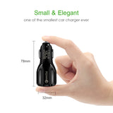 Quick Charge 3.0 Car Charger For Mobile Phone Dual Usb Charger For Universal Devices