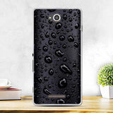 Luxury 3D Printing Phone Case Soft Silicone Back Cover For Sony Xperia Series