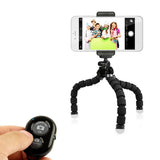 Phone Holder Flexible Octopus Tripod Bracket Selfie Expanding