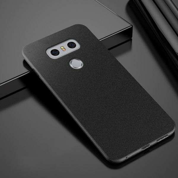 Anti Fingerprint Case Soft Silicone Matte Ultra Slim Thin TPU Cover For LG G7, G7 Plus, ThinQ, G6, G5, G5SE, G4, V35, V30, Q6, Q8 - Smart Shopping Shop