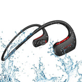 Sports Bluetooth Headphone Bass IPX7 Waterproof Wireless Headset Bass Stereo Earphone with Microphone for Universal Devices - Smart Shopping Shop
