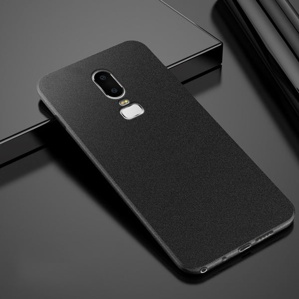 Anti Fingerprint Case Soft Silicone Matte Ultra Slim Thin Case For Oneplus 6, 5T, 5, 3, 3T - Smart Shopping Shop