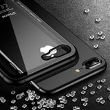 Tempered Glass Transparent Protective Phone Case For Apple iPhone X, iPhone XR, iPhone XS, iPhone XS Max - Smart Shopping Shop